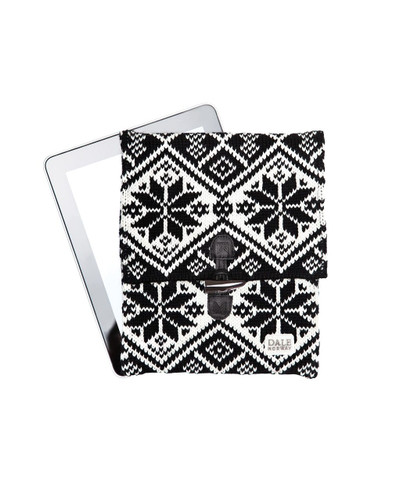 Dale of Norway iPad cover, Black/Off White, 10081
