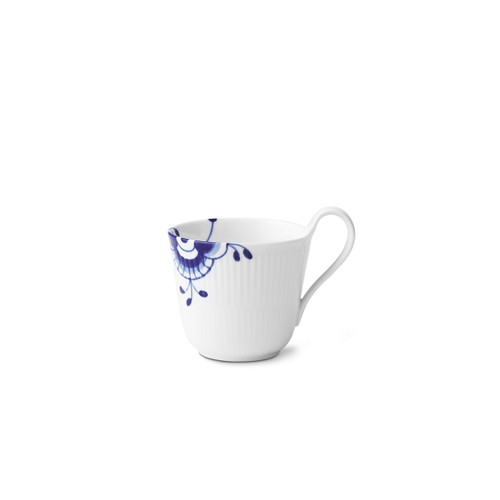 Blue Fluted Mega - High Handle Mug, 11 oz.