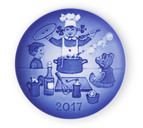 Bing and Grondahl 2017 Children's Day Plate