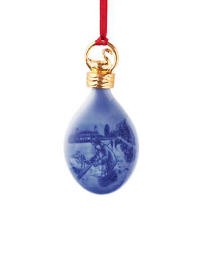 Royal Copenhagen 2017 Christmas Drop Ornament