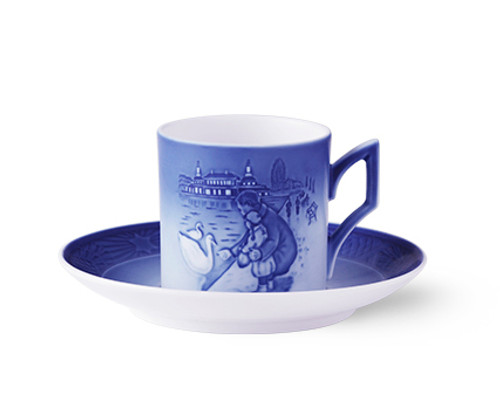 Royal Copenhagen 2017 Christmas Cup and Saucer