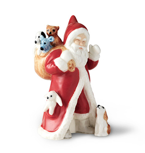 Royal Copenhagen 2017 Annual Santa Figurine