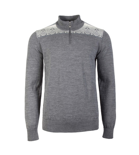 Dale of Norway Fiemme Sweater, Mens - Smoke/Sochi Blue/Grey/Navy/Off White, 93421-E