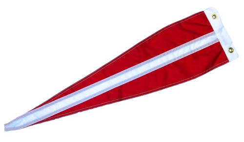 "Danish Vimple Flag - 84"" - Large"