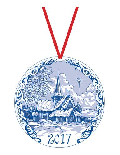 2017 Stav Church Ornament - Hedalen
