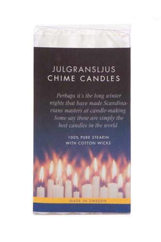 Swedish Angel Chime Candles - White
