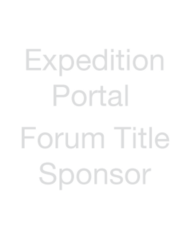 Expedition Portal - Forum Title Sponsor