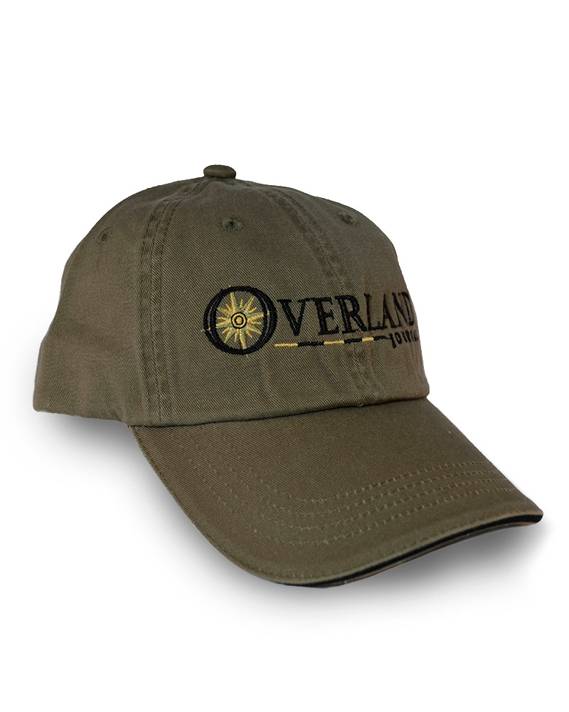 Overland Journal Olive Hat