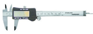 "6"" Digital Caliper with Fractional, Decimal Inch, Metric"