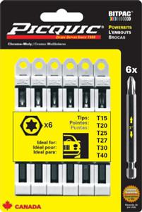 PicQuic Torx Multipack - T15-40