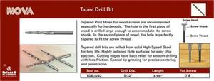 5/32 Tapered Drill Bit