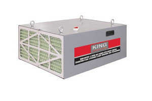 King Industrial 3 Speed Air Cleaner With Remote