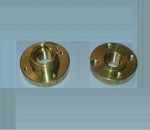 5/8-11 Flush Cut Flange 4 Screws