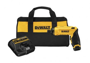 Dewalt Gyroscopic Screwdriver 8V Li-ion (1 Battery and Charger Kit)
