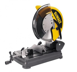 "Dewalt 14"" Metal Cutting Dry Cut Saw, Multi-Cutter, Carbide Blade"