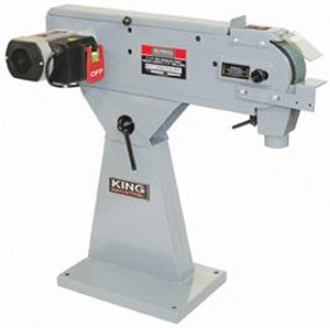 "2HP 220V Metal Belt Sander 3 X 79"" Belts"