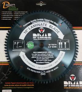 """Dimar 10"""", 80T, ATB, Melamine Saw Blade"""