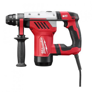 "Milwaukee 1-1/8"" SDS+ D-Handle Rotary Hammer Drill Kit"