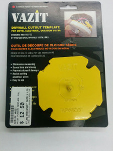 VAZIT- Drywall Cutout Tool - Octagonal Electrical Boxes