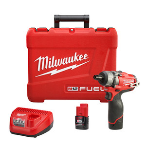"M12 FUEL 1/4"" Hex 2-Speed Screwdriver Kit"