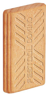 Beech Domino Tenons, 5mm x 19 mm x 30mm, Pack of 300