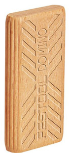 Beech Domino Tenons, 6mm x 20 mm x 40mm, Pack of 190