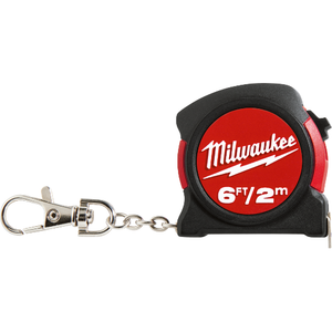 Milwaukee 6ft / 2m Keychain Tape Measure