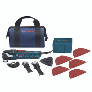 StarlockPlus Oscillating Multi-Tool Kit with Snap-In Blade Attachment