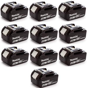 Ten Pack of 18V 4Ah Li-Ion Battery BL1840