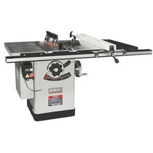 "10"" Extreme Cabinet Saw With Riving Knife Blade Guard System - 30"" Rail"