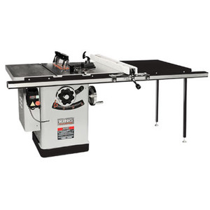 "10"" Extreme Cabinet Saw With Riving Knife Blade Guard System - 50"" Rail"
