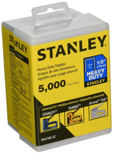 1/2-Inch Heavy Duty Staples, 5000 Units