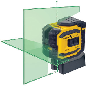 LAX300G Green Beam Cross Line Plus Plumb Dots Laser Level