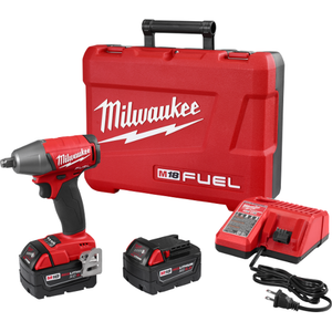 "M18 FUEL 1/2"" Compact Impact Wrench w/ Friction Ring Kit"