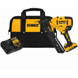 20V Max XR 15 Ga Angled Finish Nailer - Kit
