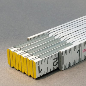 Engineers Folding Ruler - Modular 1/16ths scale both edges-outside