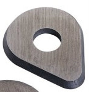 Pear-shape Blade for the 625 scraper