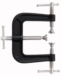2.5 x 2.5, 3-Way Edge Clamp