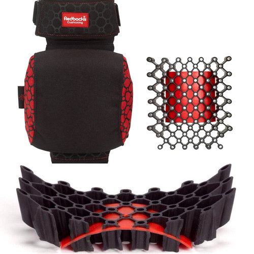 Strapped Knee Pad; Extra Comfy Cushioning (Made In England)