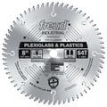 "8"" 64 Tooth Full Kerf MTCG Plexiglass & Plastics Blade"