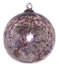 Amethyst Web Design Iridized 4 Inch