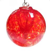Small Witch Ball Garnet