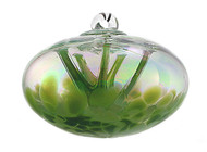 "JuJu Ball ""Irish Clover"" Iridized (4 inch)"