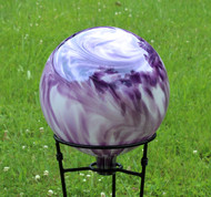 Lavender Gazing Ball 12 Inch