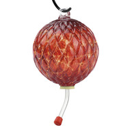 Hummingbird Feeder Diamond Optic Garnet Red