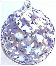 """""""Lavender / White"""" Ice Kugel"""