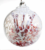 """Veiled Witch Ball """"Cherry"""""""