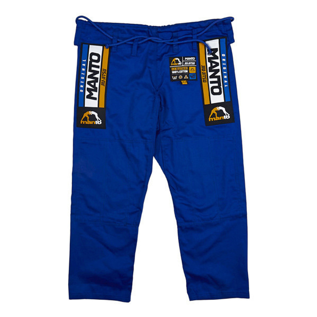 "MANTO ""4.0"" CLASSIC BJJ GI Blue - ON SALE!!!"
