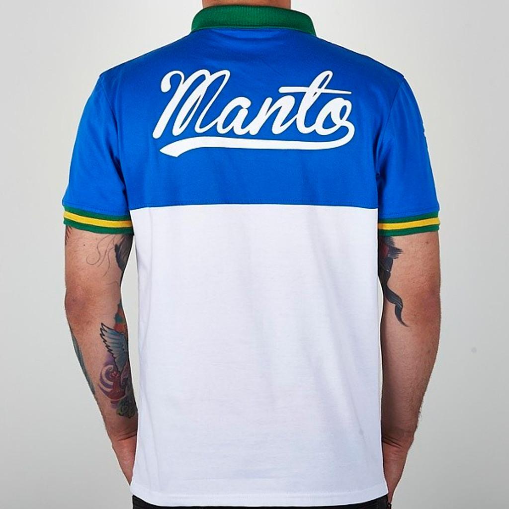 """MANTO """"RIO"""" Polo Blue"""
