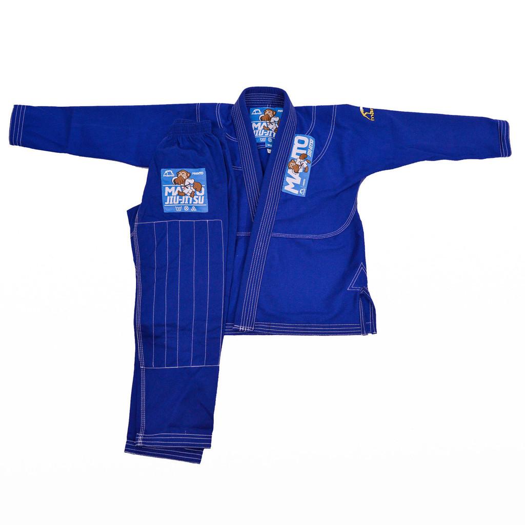 "Manto ""Monkey"" GI for Kids - Blue"